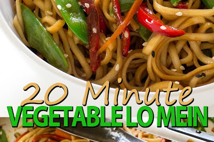 20 MINUTE VEGETABLE LO MEIN