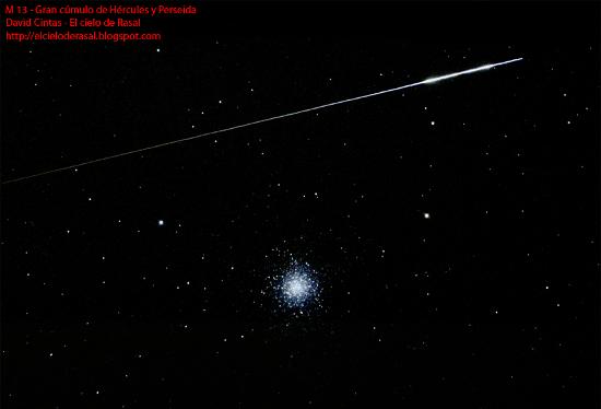 Cúmulo de Hércules M13 - El cielo de Rasal