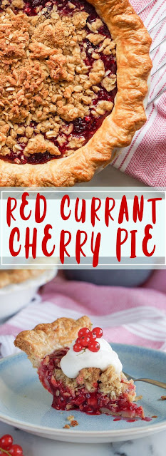 Red Currant & Cherry Pie