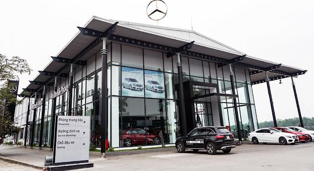 Mercedes Hải Phòng là Đại lý đầu tiên của Mercedes Việt Nam