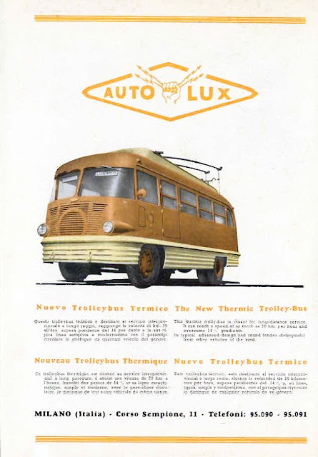 transpress nz 1947 auto lux trolley bus italy. Black Bedroom Furniture Sets. Home Design Ideas