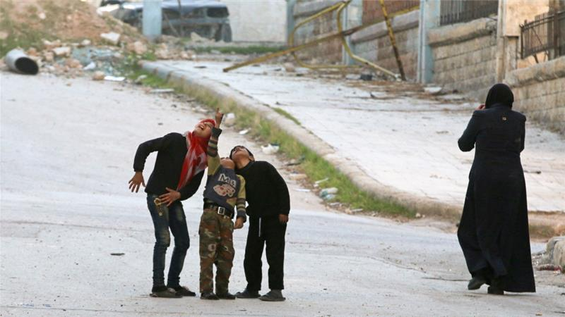 France: World should stop turning a blind eye to Syria
