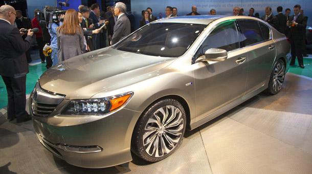 2014 Acura RLX Car Show