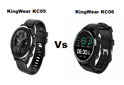 KingWear KC05 VS KingWear KC06 SmarWatch Comparison