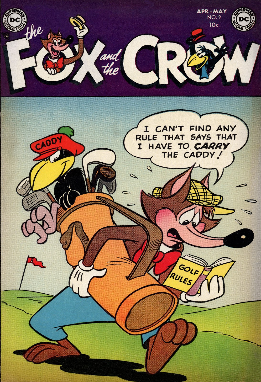 The Fox and the Crow 9 Page 1