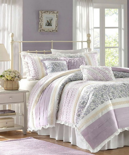 Lilac Bedrooms With Nice Colors 3