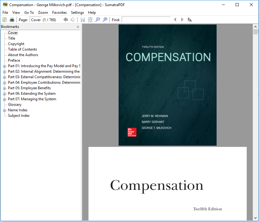 george milkovich and jerry newman compensation Compensation 10th edition by george t milkovich, jerry m newman and barry gerhart, c2011 chapter 1.
