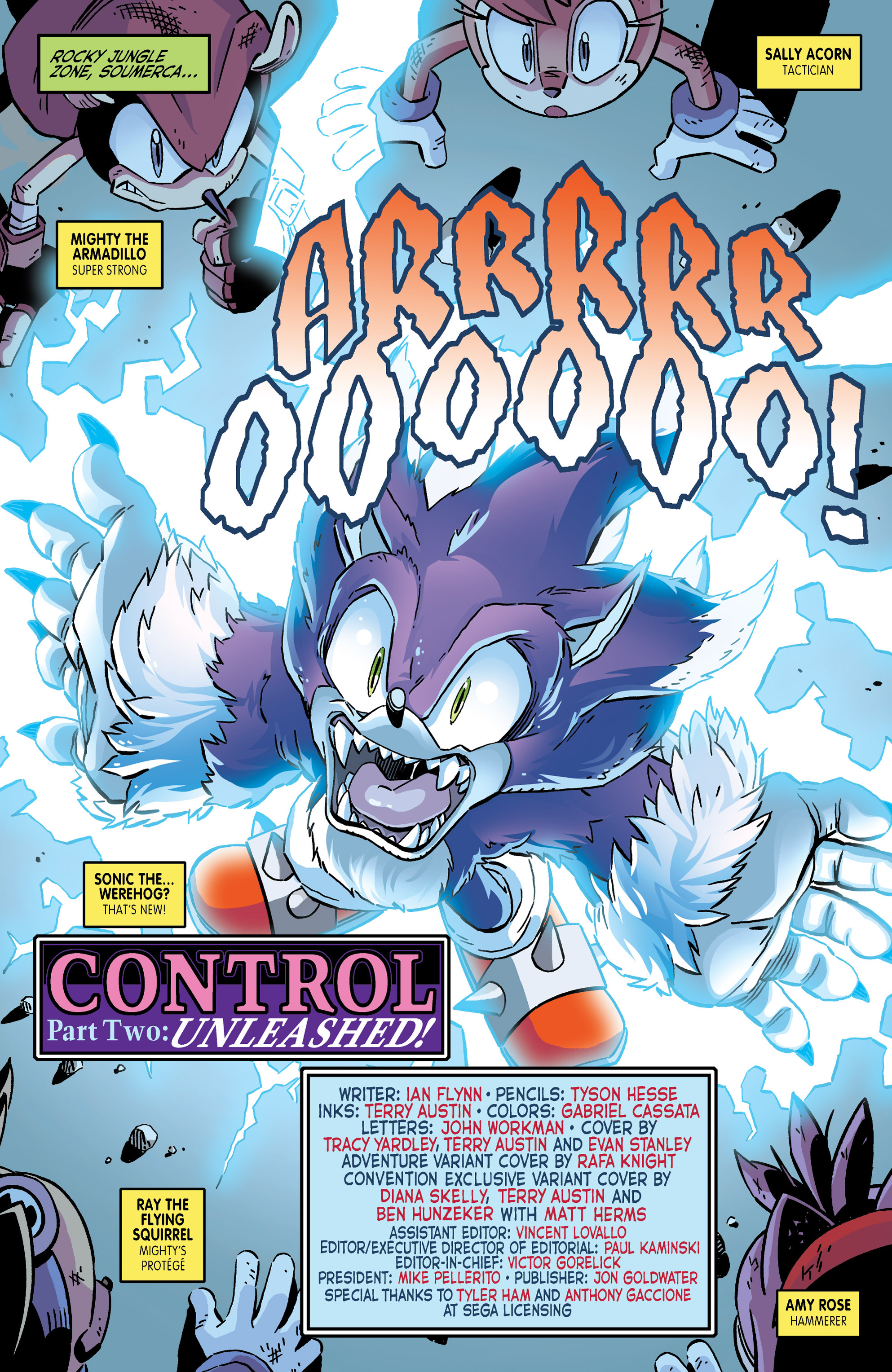 Read online Sonic The Hedgehog comic -  Issue #265 - 3