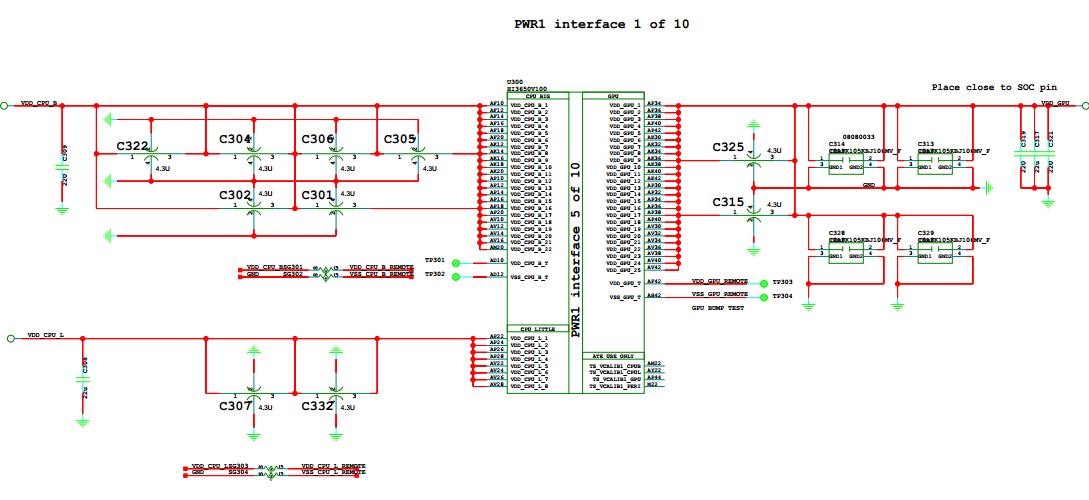 Huawei Mate 8 Schematic Diagram