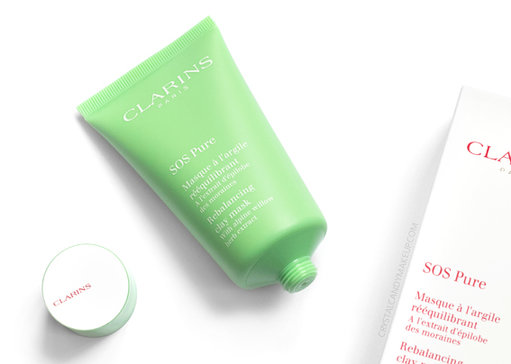 Clarins SOS Pure Rebalancing Clay Face Mask Review