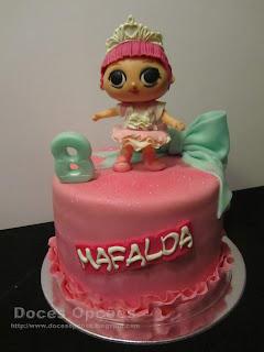 bragança LOL Surprise bolos festas anos