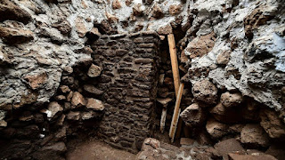 Earthquake reveals 1,000-year-old Aztec temple