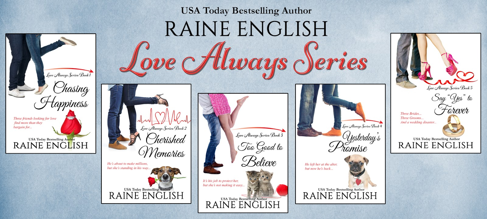 Sweet Romance Reads: The Challenges of Writing a Series by Raine English