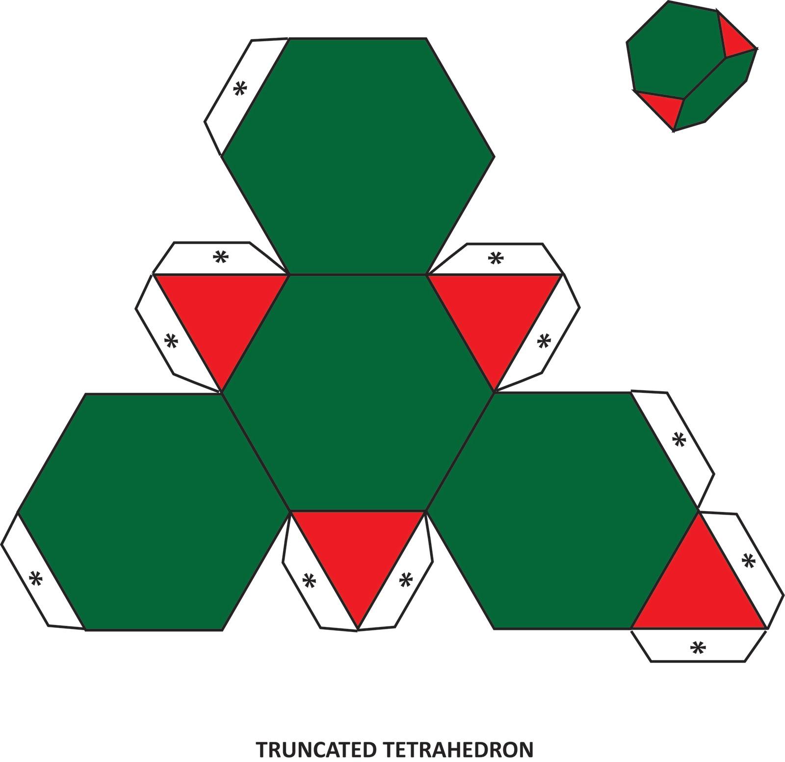 Fun with Mathematics  The Archimedian solidsPlatonic Solid Net