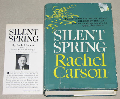 The Book-of-the-Month Club edition of Rachel Carson's Silent Spring