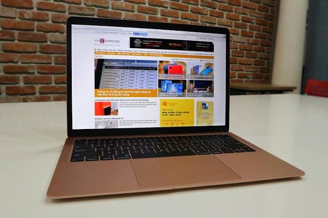 MacBook Air 2018 về Việt Nam giá hơn 37 triệu đồng