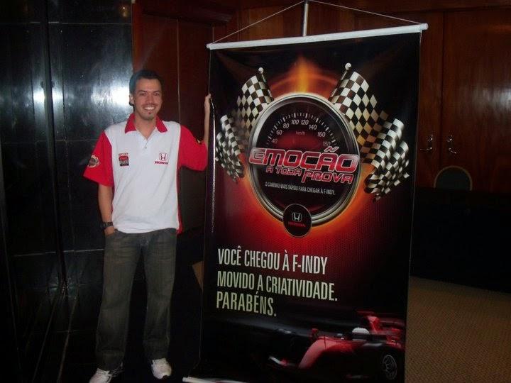 ganhador promocao Fórmula Indy