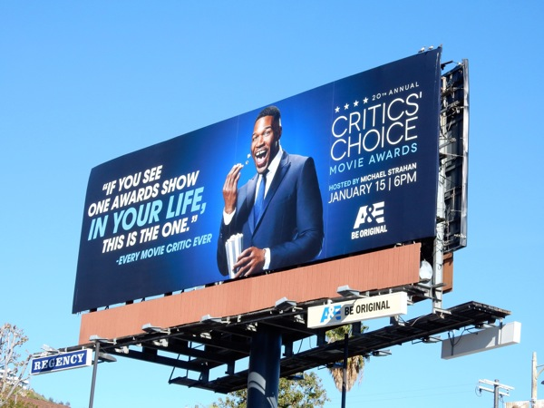 20th Critics Choice Movie Awards billboard 2015