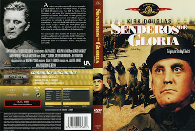 Carátula: Senderos de gloria (1957) Paths of Glory