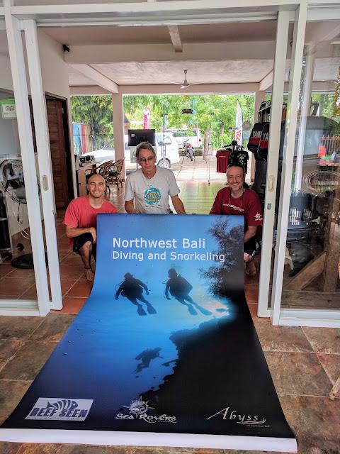 promoting Northwest Bali Diving & Snorkeling