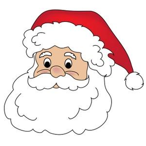 Caras Papa Noel Para Imprimir Imagenes Y Dibujos Para Imprimir - Papa-noel-para-imprimir
