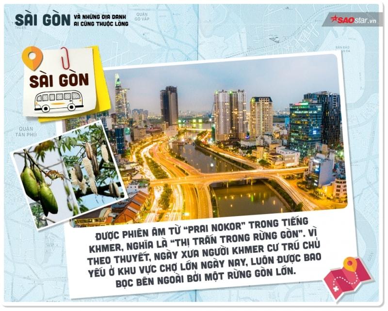 Lý giải thú vị về tên gọi Sài Gòn và những địa danh quen thuộc ai cũng biết nhưng ít khi rõ nghĩa - Ảnh 1