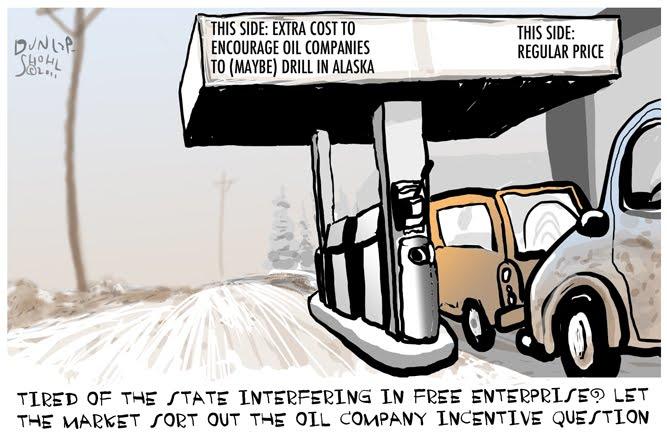 Frozen Grin: Speaking of High Gasoline Costs