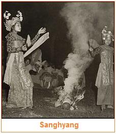 Sanghyang - 10 Contoh Jenis Teater Tradisional di Indonesia