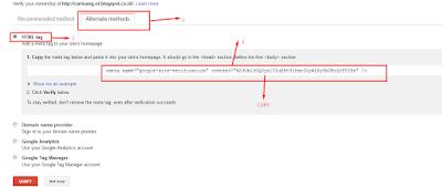 webmaster tool google pict, cara memasukan website ke google pict, Cara Daftar Dan Verifikasi Blog Ke Google Webmaster Tools pict, cara membuat blog gratis pict, bikin situs web gratis pict,daftar website gratis di google pict