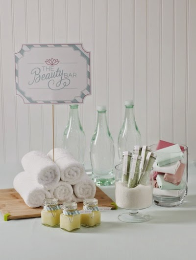 Pampering Spa Wedding Shower Ideas