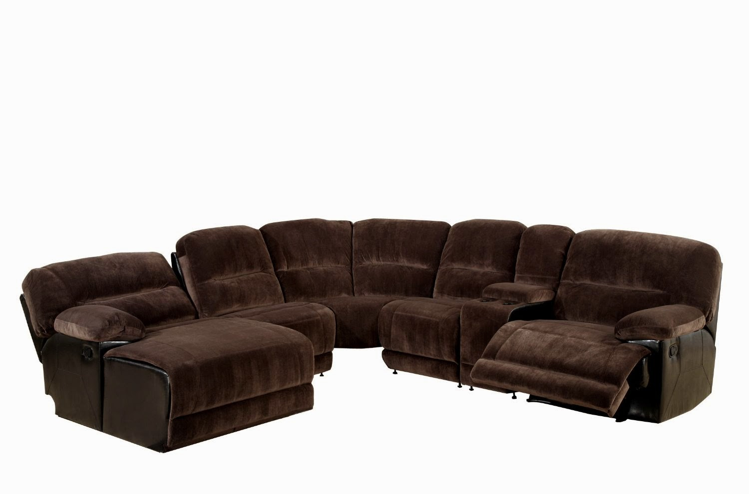 Sofa recliner reviews microfiber recliner sectional sofa for Couch with 2 chaises