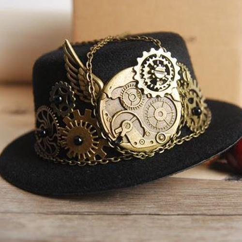 Sombrero Steampunk. Fuente: AliExpress