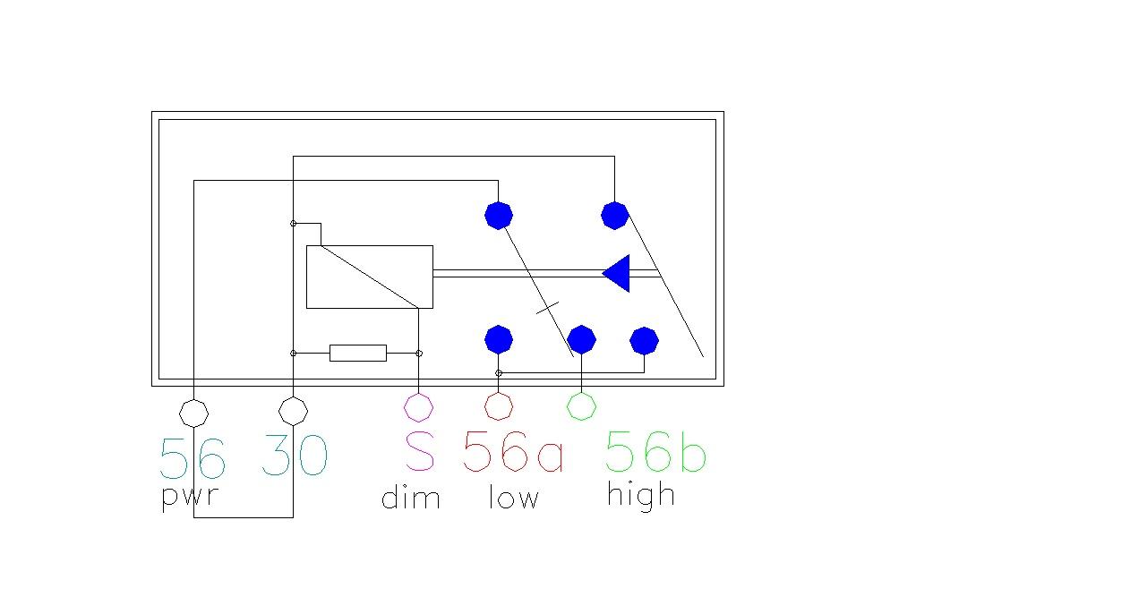 30 56 56a 56b S Relay Wiring Diagram : 36 Wiring Diagram
