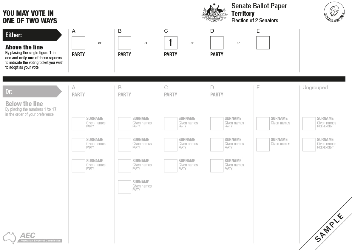 Order a paper voting