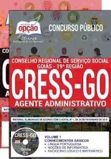 Apostila Concurso CRESS GO 2019 PDF