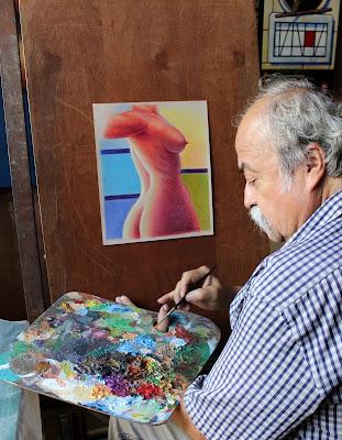Leonel Durán El Arte del Desnudo en Dos Géneros Alianza Francesa de Caracas sede Chacaíto, Venezuela.