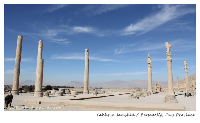 Iran: Persepolis of Takht-e Jamshid - Ramble and Wander