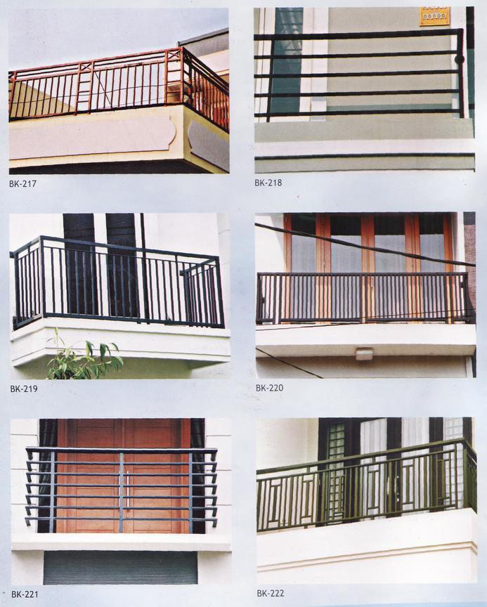 Folding Gate Sumber Makmur: Desain Model Balkon 5