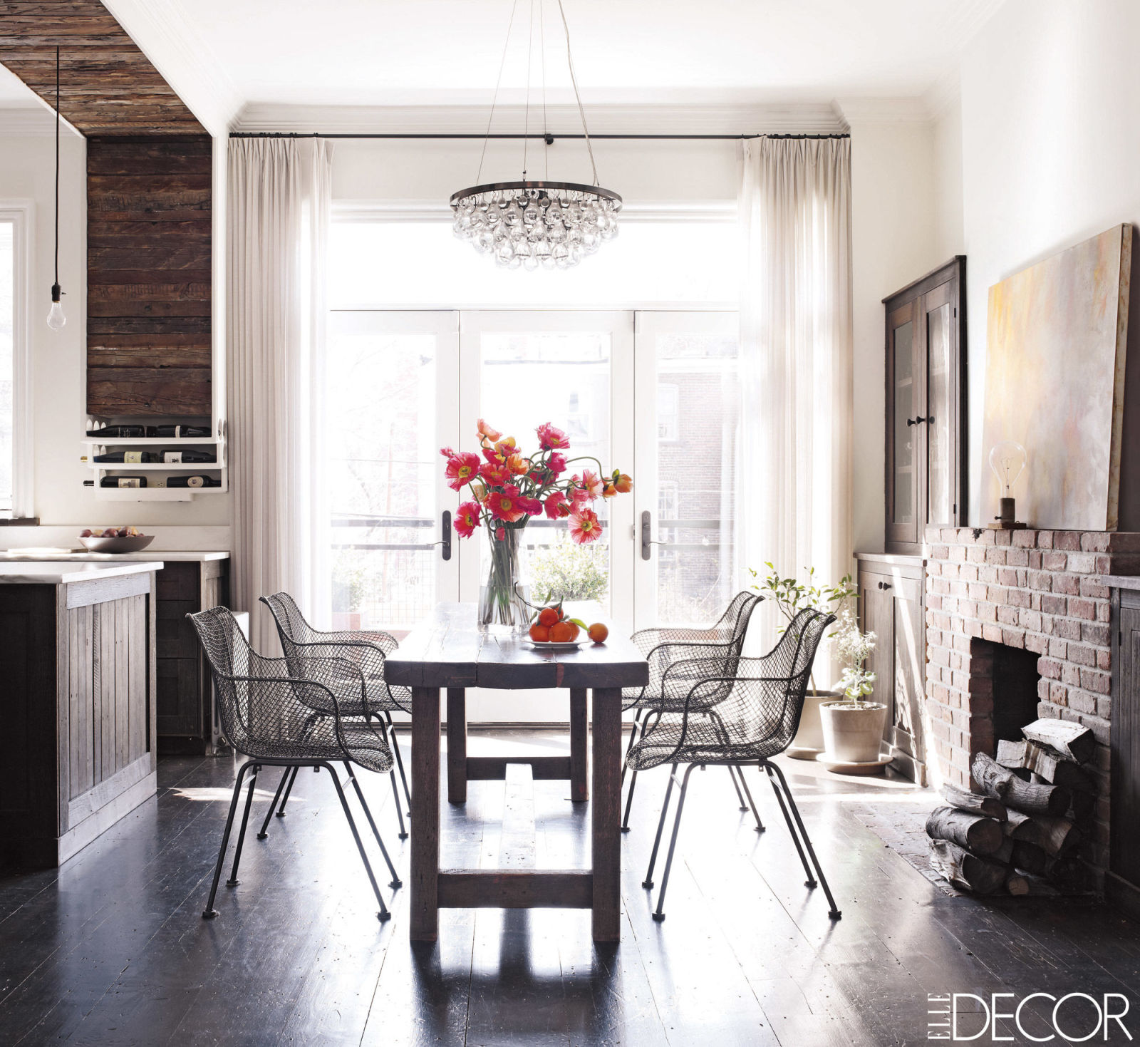 At Home Decor: Decor Inspiration : At Home With: Keri Russell's Brooklyn