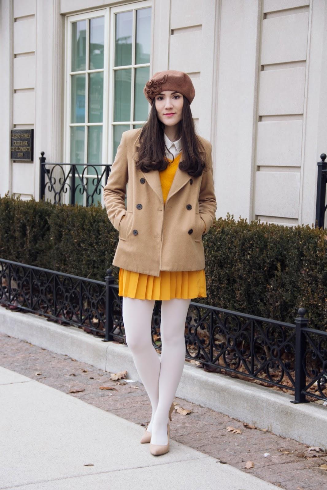 Mustard Yellow : Two ways to wear it !