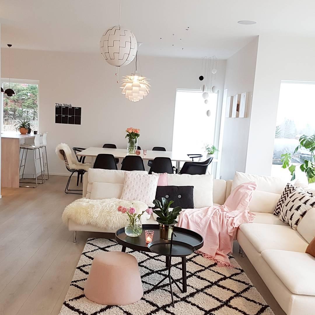 70 Desain Interior Ruang Keluarga dan Ruang Makan