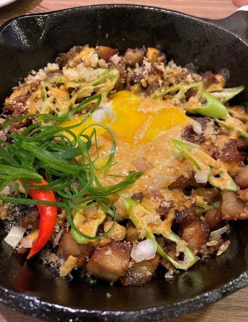 Y Cafe's Pork Sisig