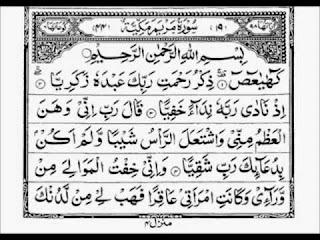 Teks Bacaan Surat Maryam Arab Latin dan Terjemahannya