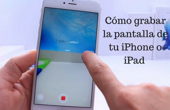 Grabar, pantalla, tutorial, iphone, ipad, video