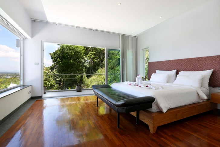 Bright bedroom in Modern Villa Beyond in Phuket