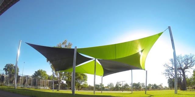 Tenda Membrane Model Tarik / Layar