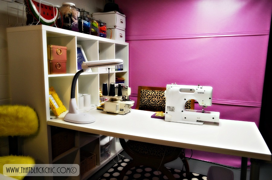 My SEWing Space | That Black Chic
