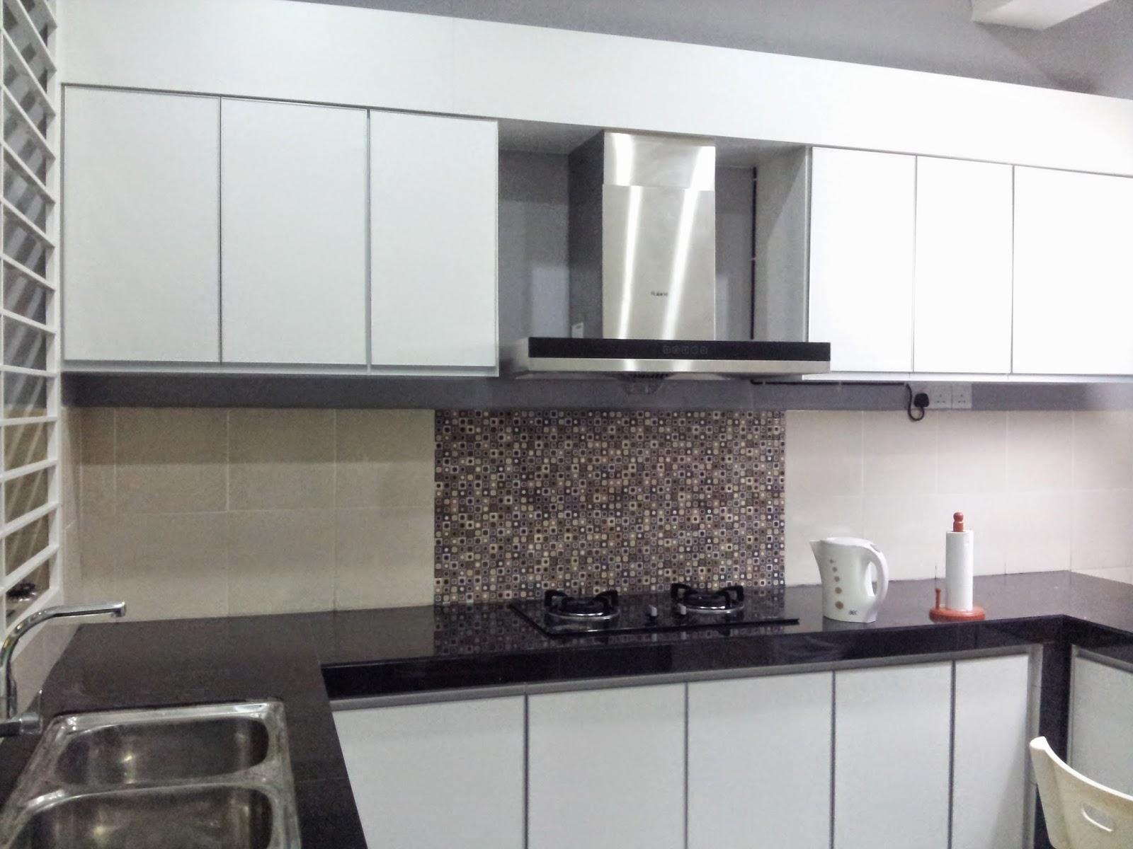 Pilihan Paling Murah Tapi Lebih Heavy Duty Dan Easy Maintenance Berbanding Granite Lain Untuk Surface Atas Just Gunakan Tiles Bersaiz