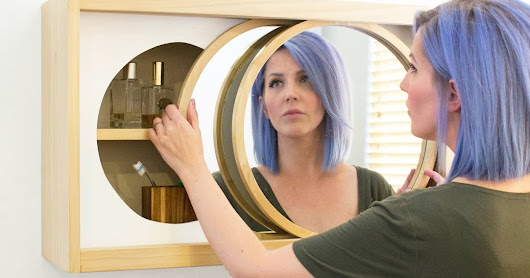 How to Build a Round Mirror Wall Cabinet