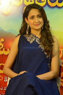 Pragya Jaiswal in beautiful Blue Gown Spicy Latest Pics February 2017 107.JPG
